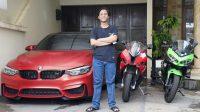 Inspiratif, Mantan Tukang Parkir Lulusan SD Kini Punya Motor & Mobil Ratusan Juta