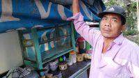 Kasihan, Pedagang Bakso ini Urung Mudik Karena Keder Penyekatan Berlapis