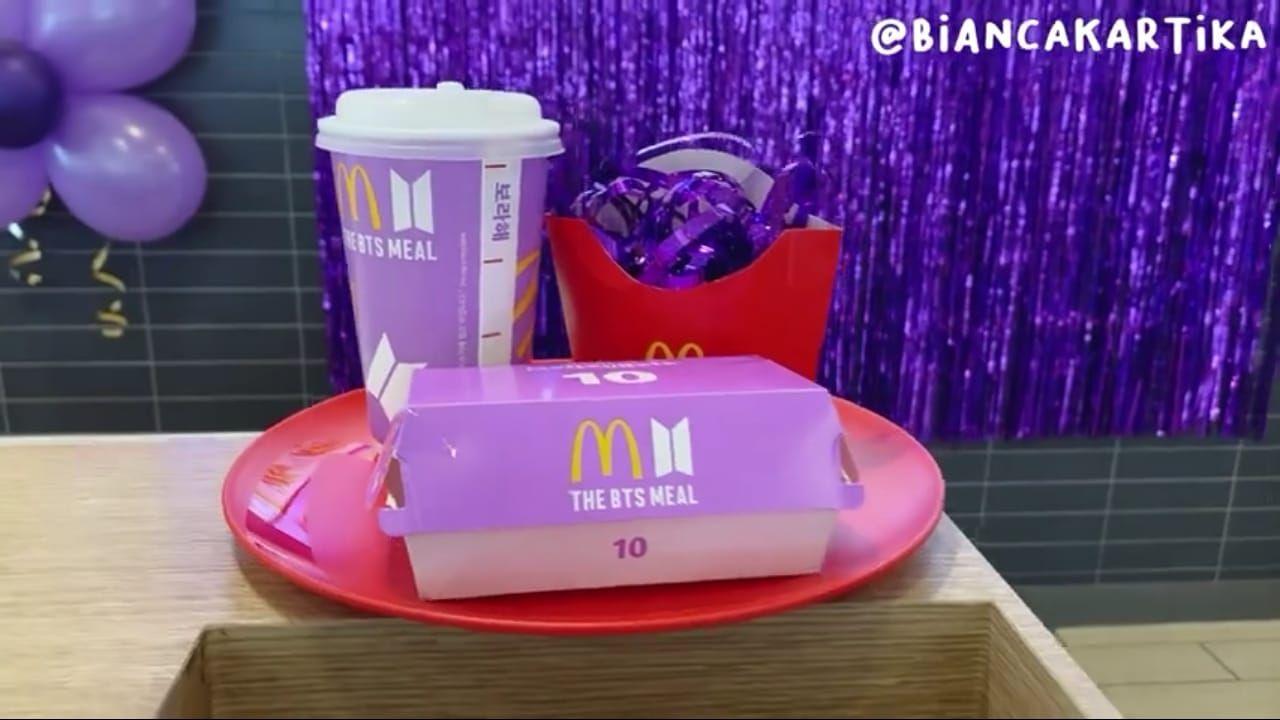 Viral, Nugget Ayam BTS Meal McDonald's Dijual Setara Apartemen Mewah