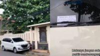 Warganet Geram Lihat Wanita Kempesi Ban Mobil yang Parkir Jalan Umum Depan Rumahnya