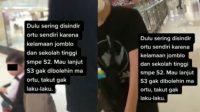 Disindir Ortu Kelamaan Jomblo Karena Sekolah Tinggi, Wanita Akhirnya Beri Jawaban!