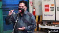 Bau Korupsi di 2 BUMN Tercium Erick Thohir, Terselubung Utang & Proyek Triliunan