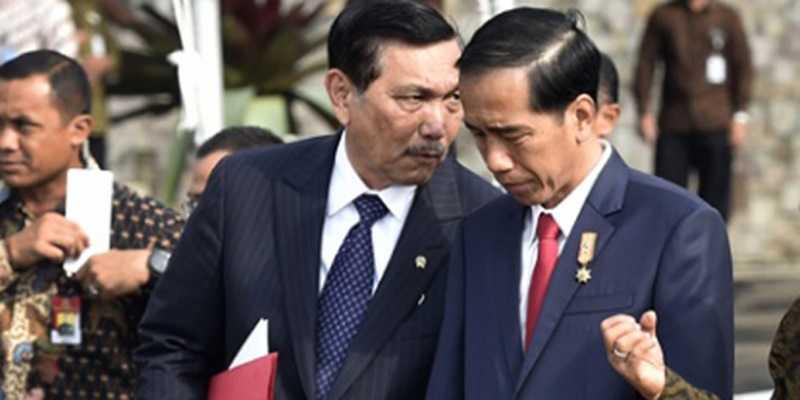 Disayang Megawati, tapi Jokowi Lebih Sayang Luhut