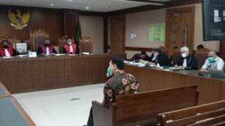 Azis Syamsuddin kepada Hakim: Saya Apes, Ketua!