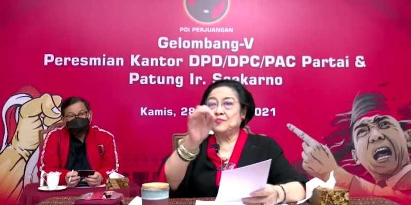 Singgung Islam Garis Keras, Megawati Serukan Seluruh DPD Bangun Patung Bung Karno