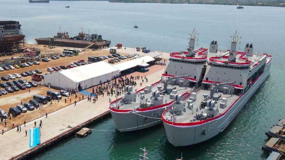 Prabowo Minta TNI AL Jaga 2 Kapal Angkut Tank Baru: Ini Hasil Rakyat!